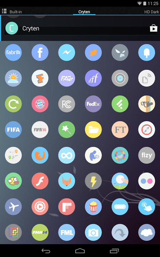 Cryten - Icon Pack - screenshot