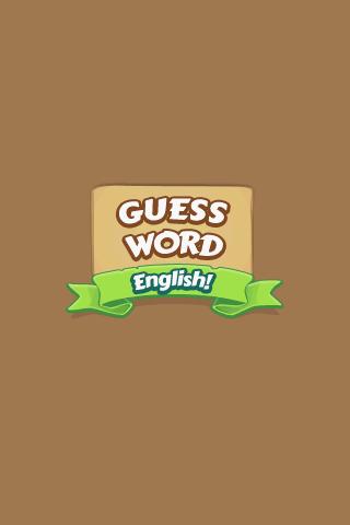 Guess Word English