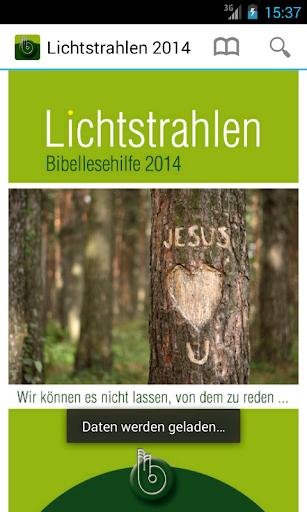 Lichtstrahlen 2014