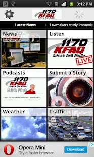 KFAQ Tulsa's Talk Radio- screenshot thumbnail
