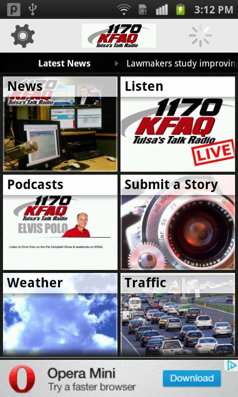 KFAQ Tulsa's Talk Radio- screenshot