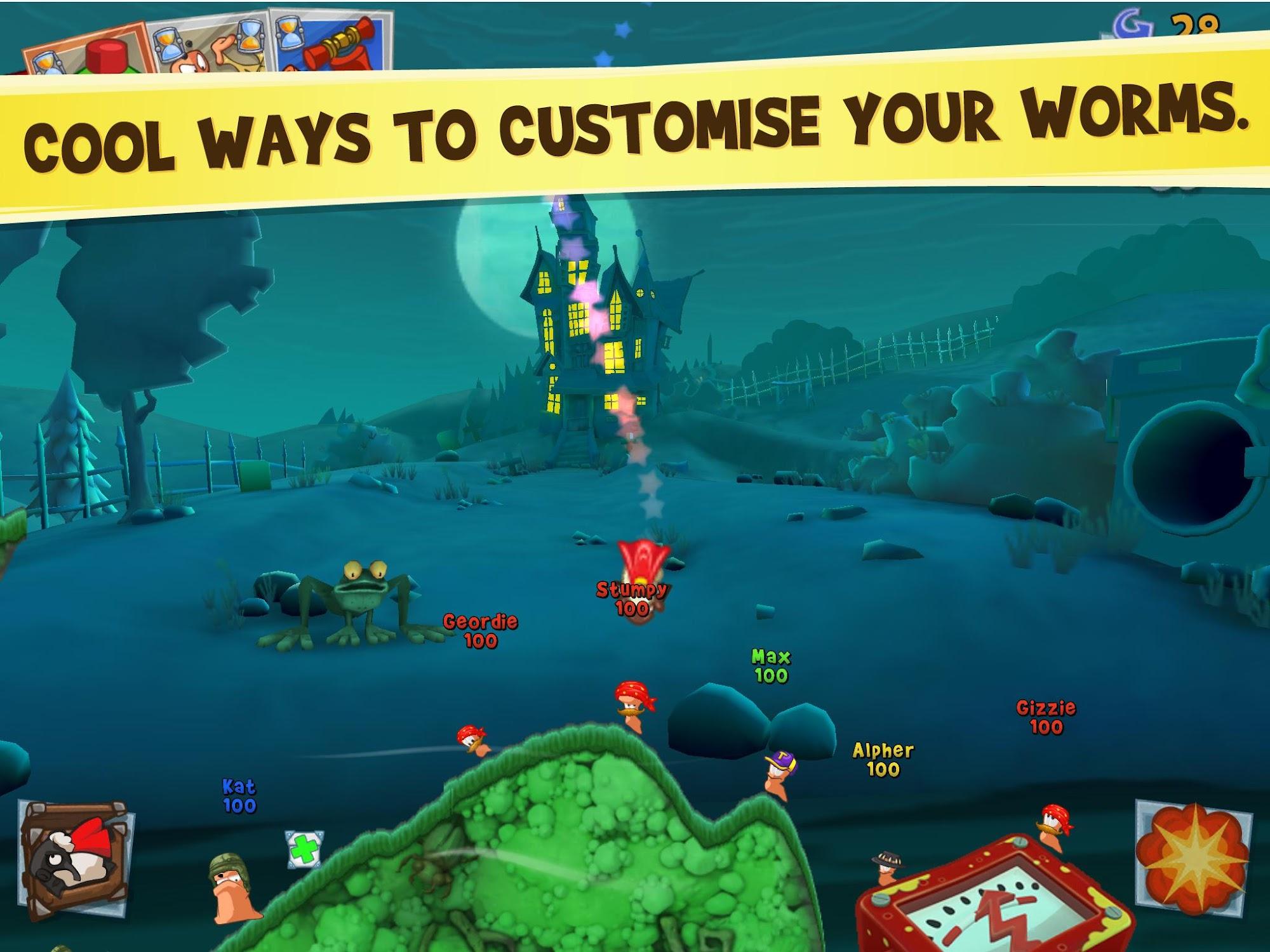 Worms 3 screenshot #11