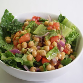 Chick Pea and Red Onion Salad