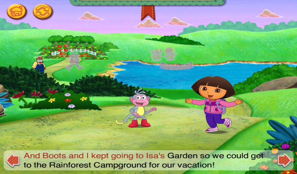 Dora and Diego's Vacation HD- screenshot