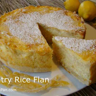 Country Rice Flan