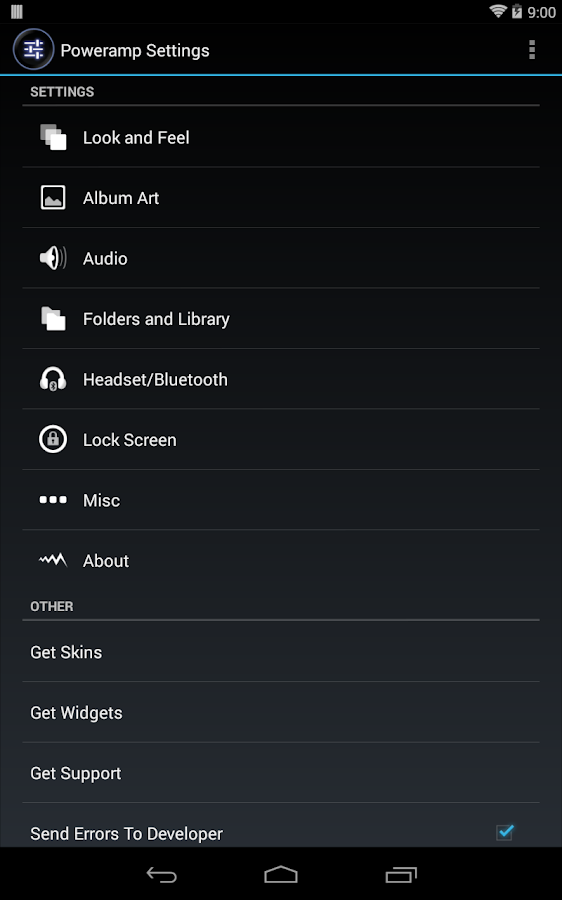 Poweramp Full Version Unlocker - screenshot