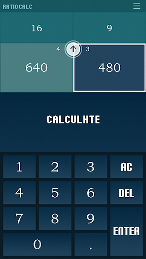 RATIO CALC touch