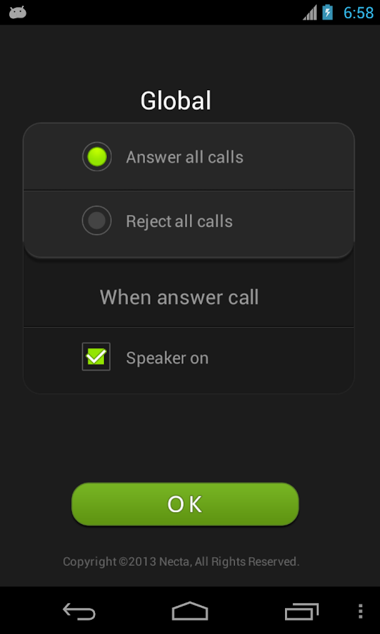 Air Call-Accept(Necta)- screenshot
