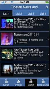 Tibetan News & Music - screenshot thumbnail