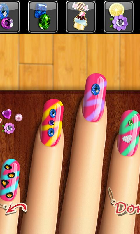 Glow Nails: Manicure Games™- screenshot