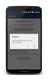 BusyBox Install (No Root) - screenshot thumbnail