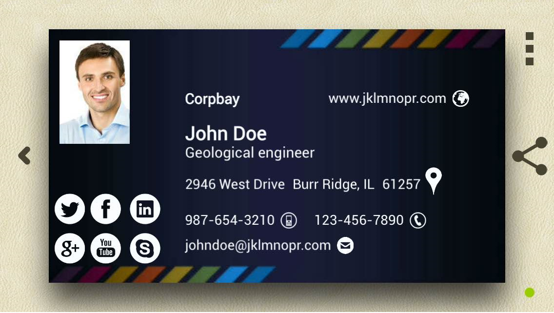 Business Cards With No Company Name Images - Card Design And Card ...