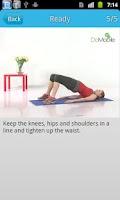 Screenshot of Ladies' Back Workout FREE