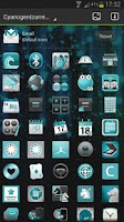 Screenshot of CYANOGEN GO Launcher EX Theme