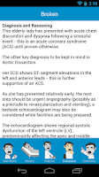 Screenshot of Prognosis : Cardiology