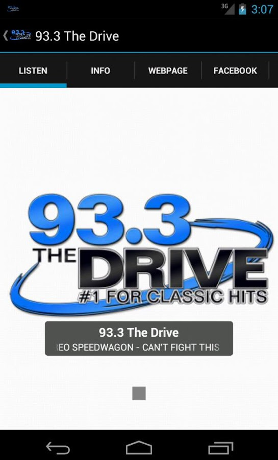 93.3 The Drive - screenshot