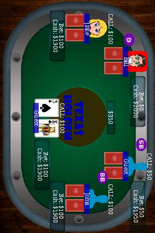 Texas Holdem Poker paid