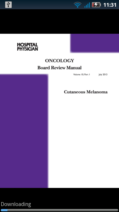 Oncology Board Review- screenshot