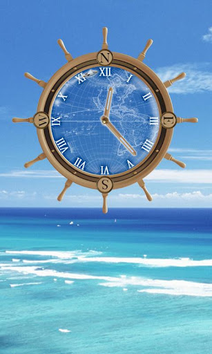Aloha Compass Clock Travel LWP
