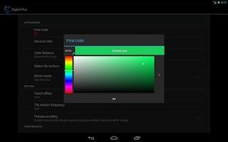 Screenshot of Digital Flux Live Wallpaper
