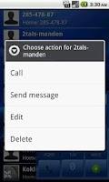 Screenshot of EasyDialer T9