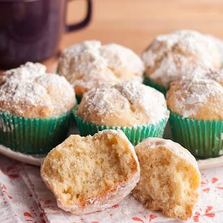 Eggnog Doughnut Muffins.