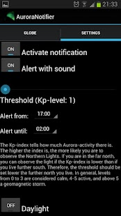 Aurora Notifier - screenshot thumbnail