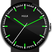 Neon Watch Face Hulk Glow
