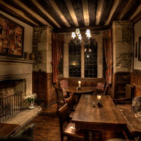 The Snug by John Walton - Buildings & Architecture Other Interior ( interior, inviting, cosy, wood, snug, wish i was here, oak, heritagefocus, coal fire, pub )