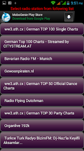 German Internet Radios - screenshot thumbnail