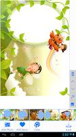 Screenshot of Kids Photo Frames