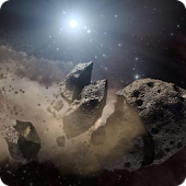 Asteroids Live Wallpaper HD
