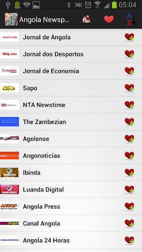 Angola Newspapers And News