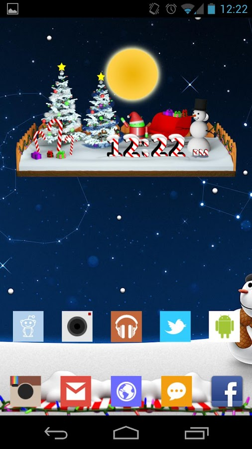 Christmas Clock - screenshot