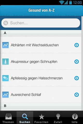Erkältungs-Tipps - screenshot