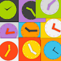 Wow KitKat Clock Widgets icon