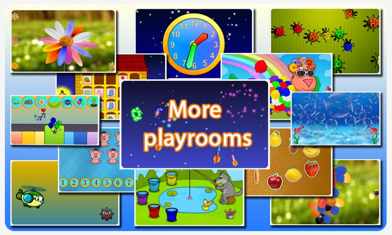 🌼Touch Games For Kids free🌼- screenshot