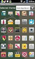 Screenshot of Icon App 6 Go Launcher EX