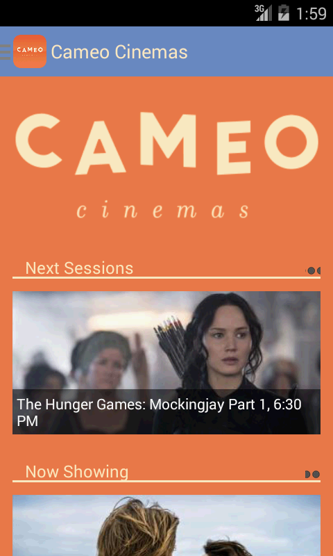 Cameo Cinemas- screenshot