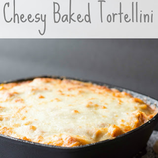 Cheesy Tortellini Bake Recipe