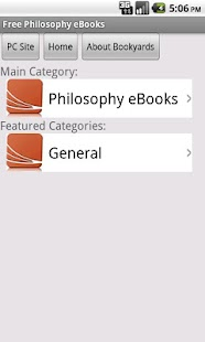 Philosophy eBooks - screenshot thumbnail