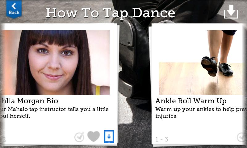 How To Tap Dance - screenshot