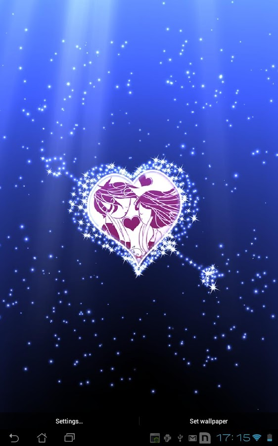 Hearts Live Wallpaper full - screenshot