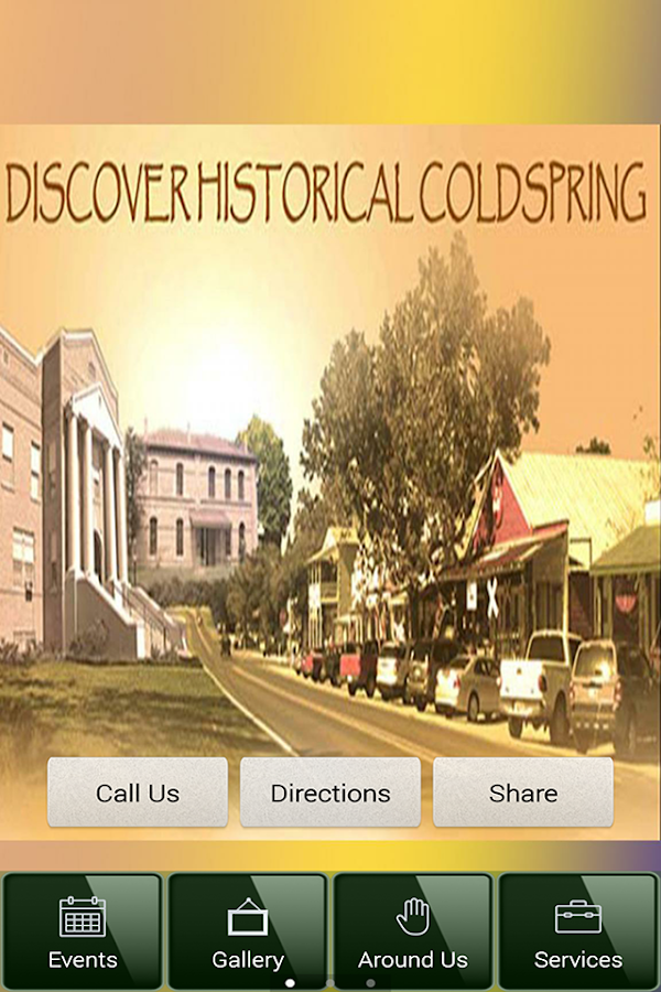 Coldspring Texas- screenshot