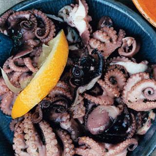 Baby Octopus Salad.