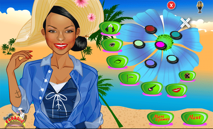 beach games for girls- screenshot