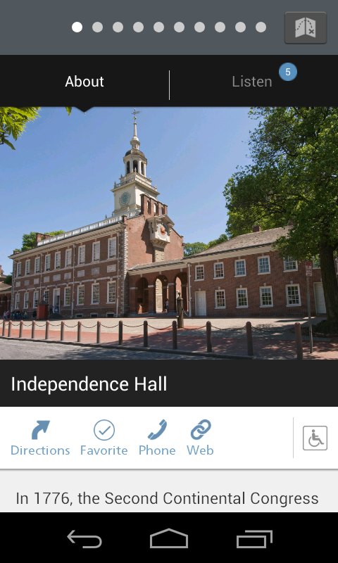 NPS Independence - screenshot