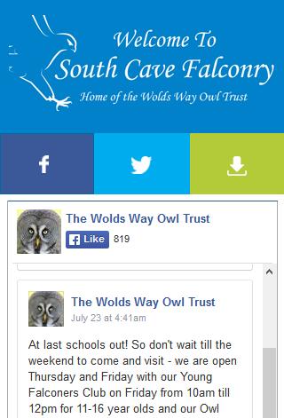 SCF web app