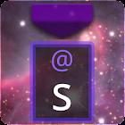 Nebula Purple Keyboard Skin icon