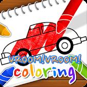 Vroom Vroom Coloring